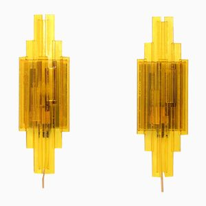 Wall Lamps by Claus Bolby for Holm Sørensen & Co., 1960s, Set of 2
