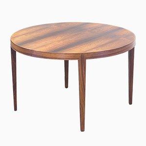 Table de Salle à Manger Mid-Century Extensible en Palissandre par Severin Hansen Jr pour Haslev