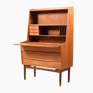 Mid-Century Danish Secretaire in Teak