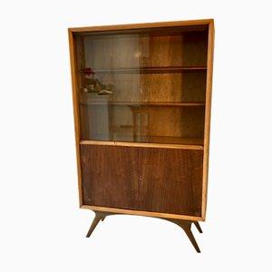 Mid-Century Walnut, Oak, & Beech Cabinet by Malcolm Walker for Dalescraft