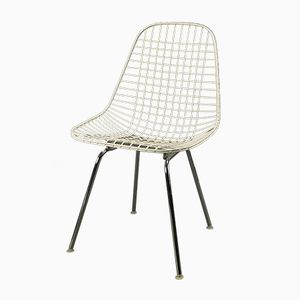 Vintage Wire Side Chair by Charles & Ray Eames for Vitra