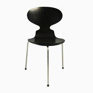 Silla Ant 3100 vintage de tres patas de Arne Jacobsen para Fritz Hansen