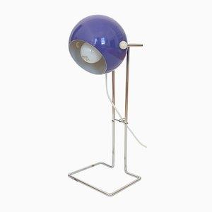 Lámpara burbuja danesa Pop Art en morado de P Bosque para Abo Randers, años 70