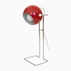 Lámpara burbuja danesa Pop Art en rojo de P Bosque para Abo Randers, años 70