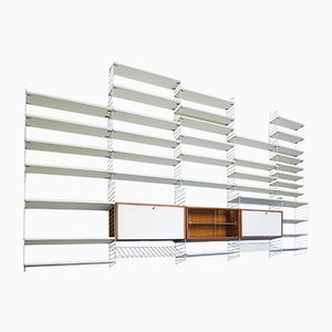 The Ladder Shelf Shelving System by Nisse Strinning for String, 1960s