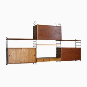 Système d'Étagères The Ladder par Nisse Strinning pour String, 1960s