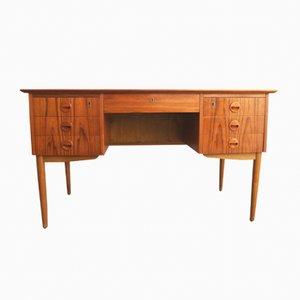 Dänischer Vintage Schreibtisch aus Teak mit Schubladen