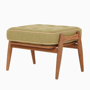 Mid-Century GE240S Oak Footstool by Hans J. Wegner for Getama