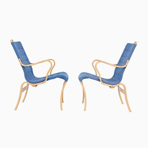 Vintage Mina Chairs von Bruno Mathsson, 2er Set