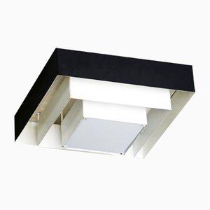 Lampada da soffitto modernista bianca e nera di Raak