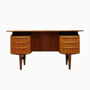 Dänischer Teak Schreibtisch, 1960er