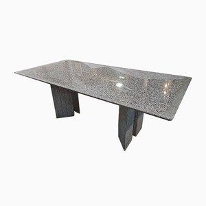 Tavolo in granito della Sardegna di Enrico Baleri per Knoll, anni '80
