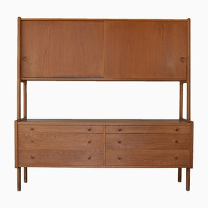 Danish RY20 Highboard by Hans J. Wegner for Ry Møbler, 1950s