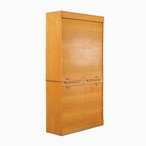 Oak Desk Cabinet, 1950s
