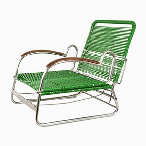 Adjustable Lounge Chair, 1930s