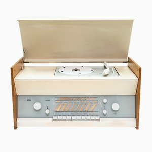 Series Atelier 1-81 Turntable by Dieter Rams for Braun, 1961