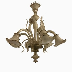 Venezianischer Vintage Murano Glas Kronleuchter