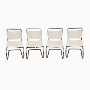 MR10 Stühle von Mies van Der Rohe für Knoll, 1984, 4er Set