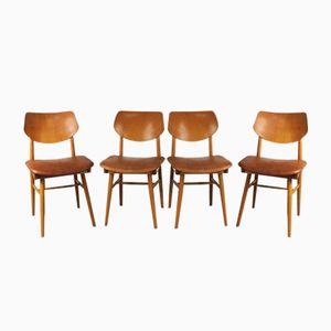 Dining Chairs from TON, 1965, Set of 4