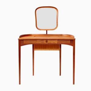 Vintage Mahogany Birgitta Dressing Table by Carl Malmsten for Bodafors, 1964