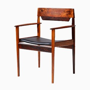Vintage Rosewood Armchair by Grete Jalk for Poul Jeppesens Møbelfabrik, 1963
