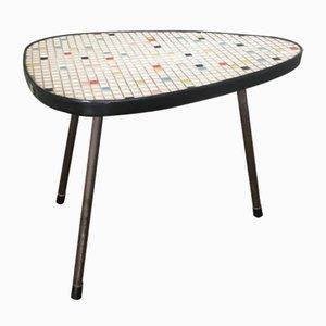 Tavolino Mid-Century modernista con mosaico, anni '50