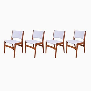 Model 89 Chairs by Erik Buch for Andestrup Møbelfabrik, 1960s, Set of 4