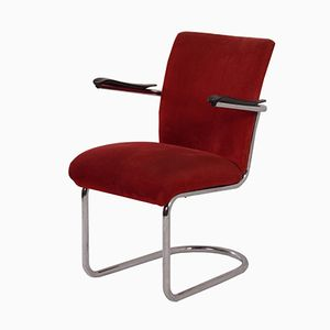 Model 1018 Easy Chair by Gebroeders de Wit, 1950s