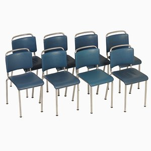 Model 106 Chairs from Gispen, 1960s, Set of 8