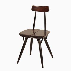 Pirkka Chair von llmari Tapiovaara für Laukaan Puu, 1950er