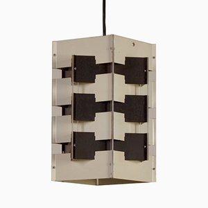 Lámpara colgante de J.J.M Hoogervorst para Anvia, años 60