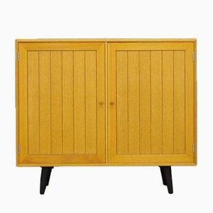 Mobiletto vintage in legno di frassino