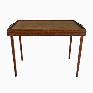 Mesa de centro plegable vintage, años 50