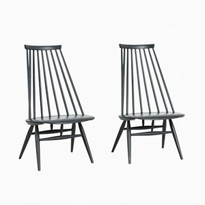 Mademoiselle Chairs by Ilmari Tapiovaara for Edsby Verken, 1961, Set of 2
