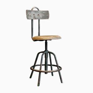 Chaise Pivotante Modèle R34 Industrielle Vintage