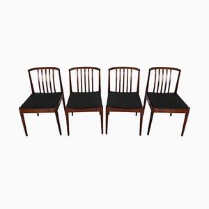 Palisander Esszimmerstühle von Casala, 1960er, 4er Set