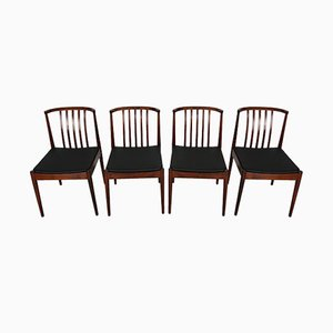 Rosewood Dining Chairs from Casala, 1960s, Set of 4