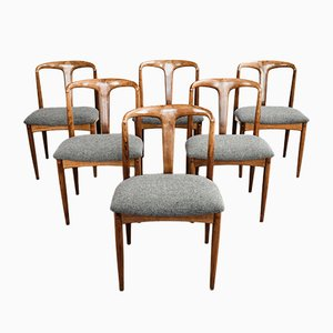 Juliane Chairs by Johannes Andersen for Uldum, 1960s, Set of 6