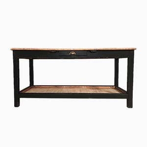 Antique Rustic English Pine Farmhouse Table