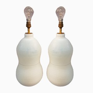 Murano Lamps, 1940s, Set of 2