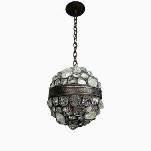 Large Art Nouveau Ceiling Lamp