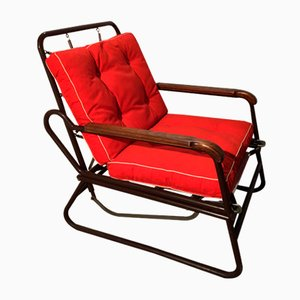 Convertible Armchair by François Caruelle, 1950s