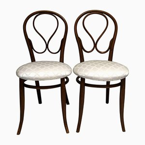 Antique Bentwood Chairs From Thonet, Set Of 2