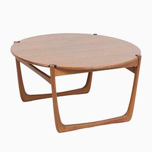 Tavolino da caffè in teak di Peter Hvidt & Orla Mølgaard Nielsen per France & Søn, Danimarca, anni '60