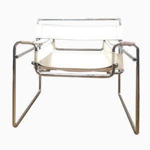 Silla Wassily diseñada por Marcel Breuer, años 60