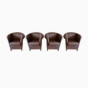 Aura Armchairs by Paolo Piva for Wittmann, 1988, Set of 4