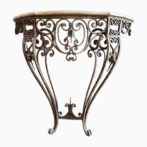 Wrought Iron Console, 1948