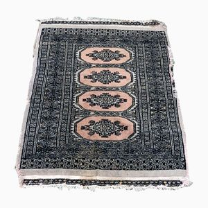 Vintage Wool & Silk Handmade Carpet