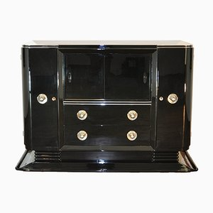 Art Deco Piano Lacquer Sideboard, 1920s