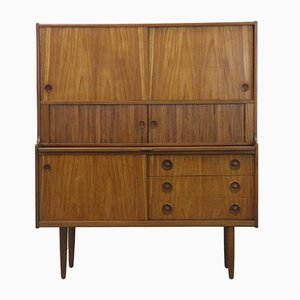 Scandinavian Teak Secretaire by Johannes Andersen for Skaaning, 1960s